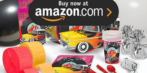 50s Rockin Party Supplies