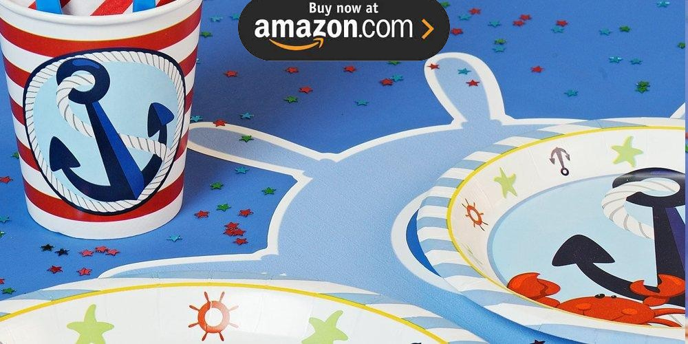 Anchors Aweigh Party Supplies