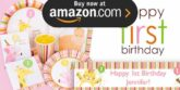 Baby Animals 1st Girl Party Supplies