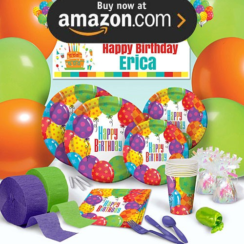 Balloon Patterns Party Supplies
