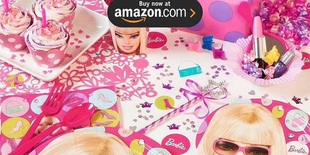 Barbie All Dolld Up Party Supplies