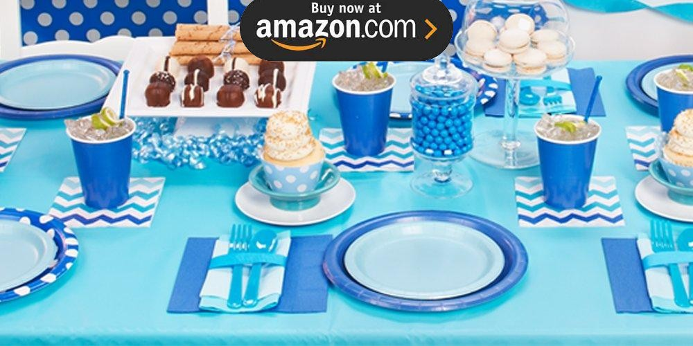 Bermuda Blue Party Supplies