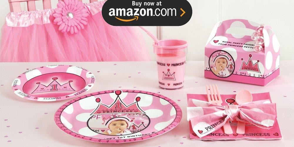 Birthday Princess 1st Birthday Party Supplies
