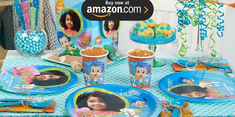 Bubble Guppies Personalized Party Supplies
