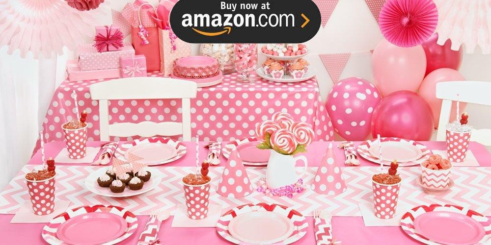 Candy Pink Party Supplies