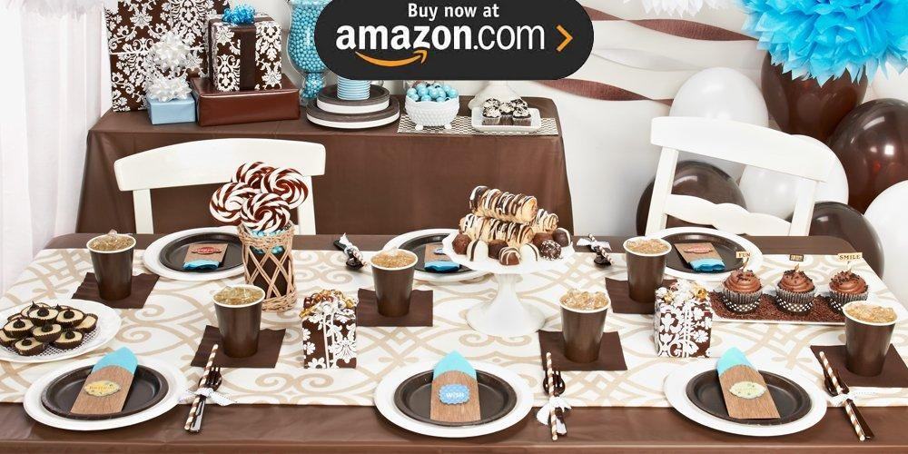 Chocolate Brown Party Supplies