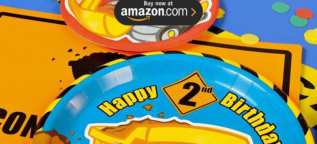 Construction Pals 2nd Birthday Party Supplies - Kids Party Supplies