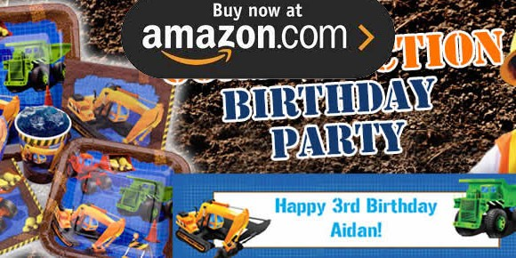 Construction Party Supplies