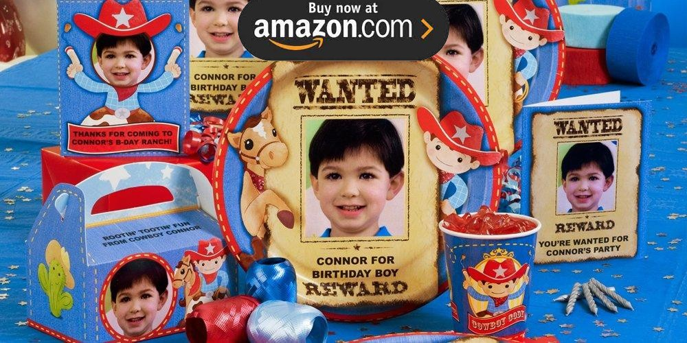 Cowboy Personalized Party Supplies