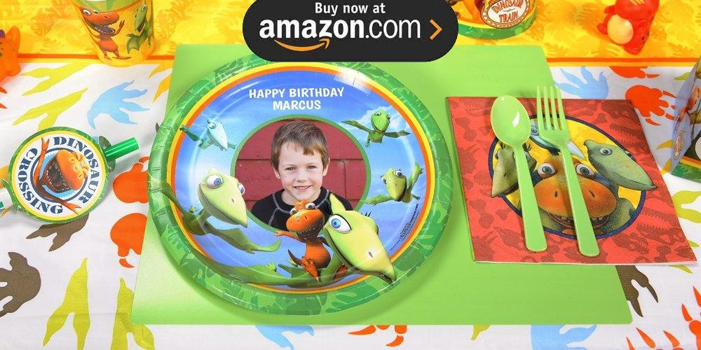 Dinosaur Train Personalized Party Supplies