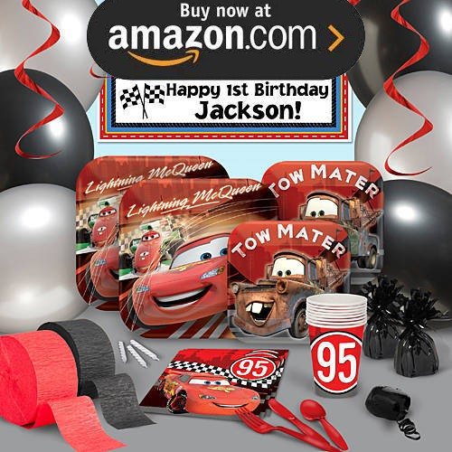 Disney Cars Formula Racer Party Supplies