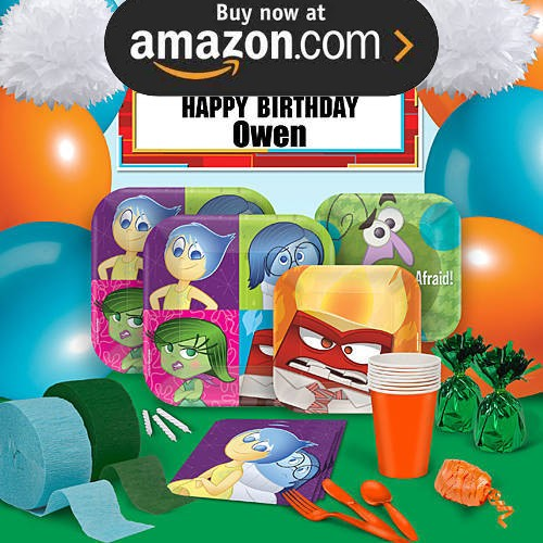 Disney Pixar Inside Out Party Supplies