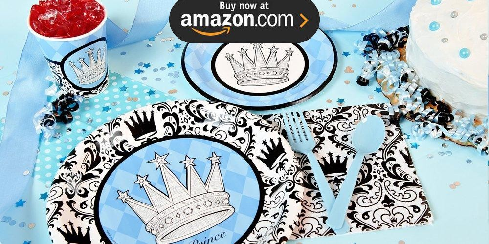 Elegant Prince Damask Party Supplies