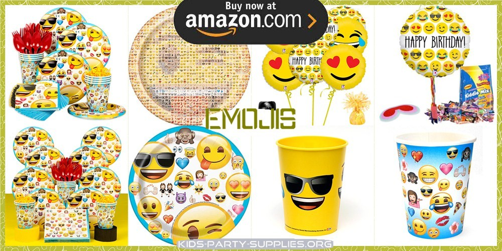 Emojis Party Supplies