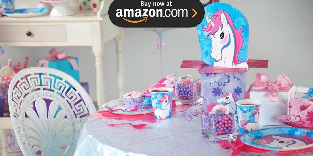 Enchanted Unicorn Party Supplies