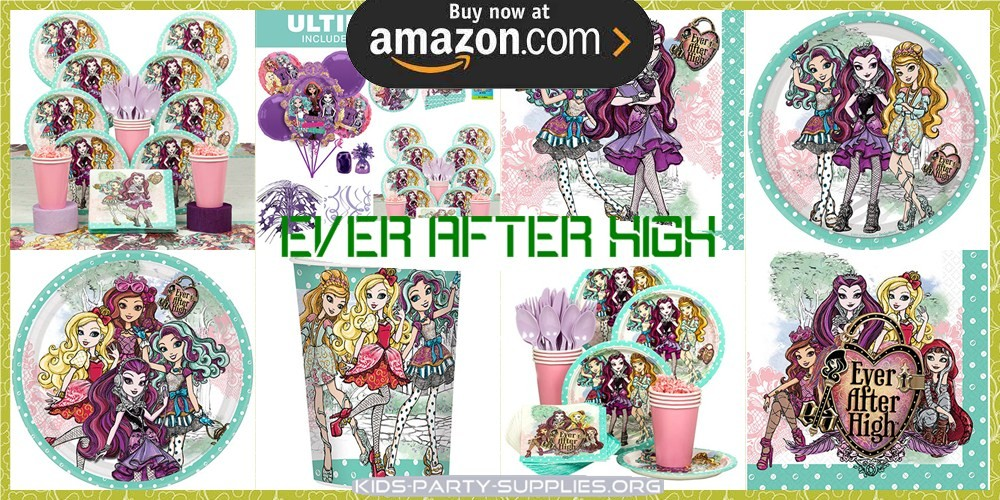 Ever After High Party Supplies