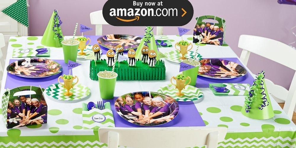 Green and White Chevron Design Your Own Party Supplies