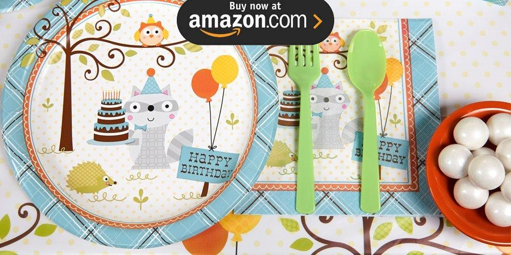 Happi Woodland Boy Party Supplies