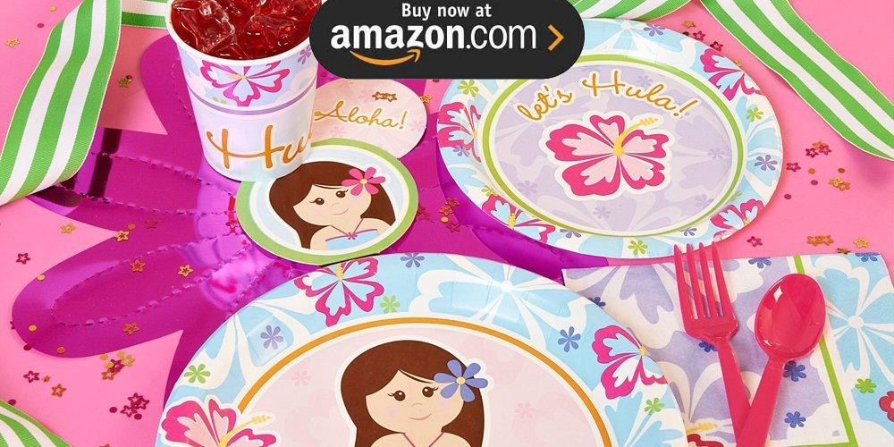 Hawaiian Girl Party Supplies