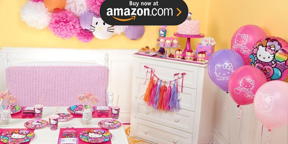 Hello Kitty Rainbow Party Supplies