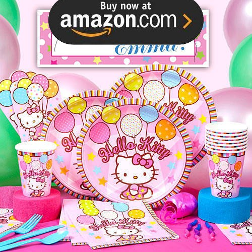 Hello Kitty Balloon Party Supplies