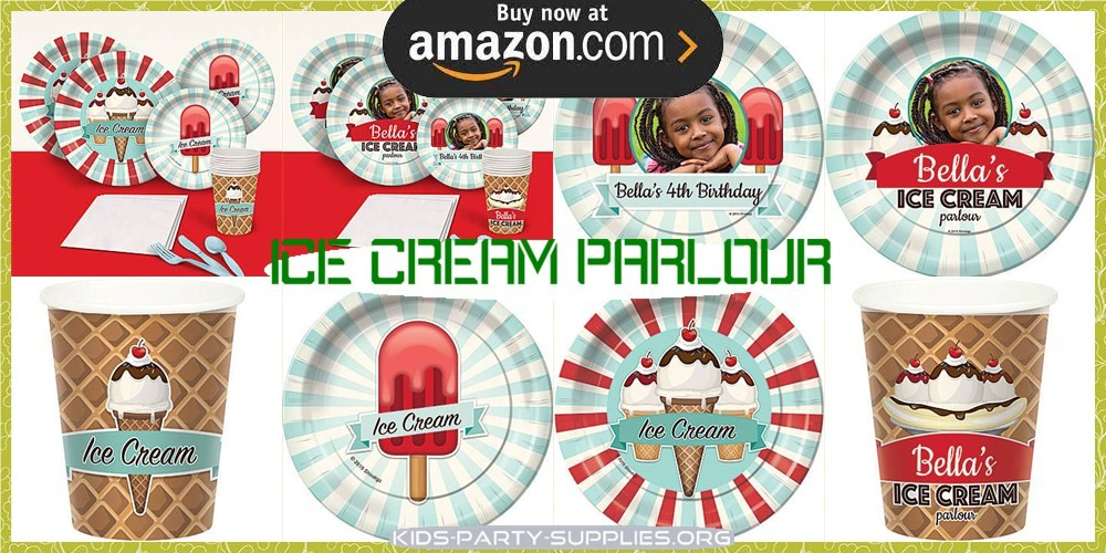 Ice Cream Parlour Party Supplies