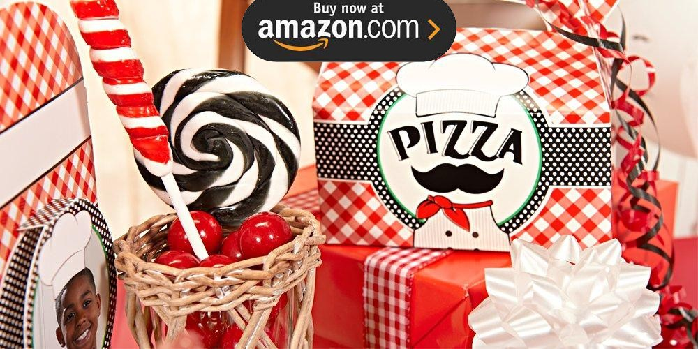 Itzza Pizza Party Personalized Party Supplies