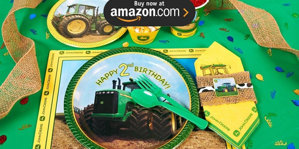 John Deere 2nd Birthday Party Supplies