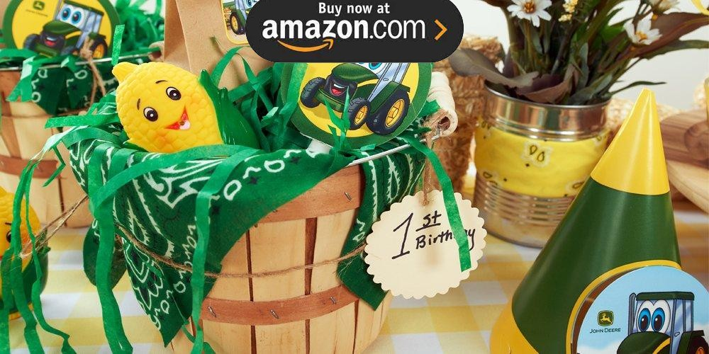 Johnny Tractor 1st Party Supplies - Kids Party Supplies