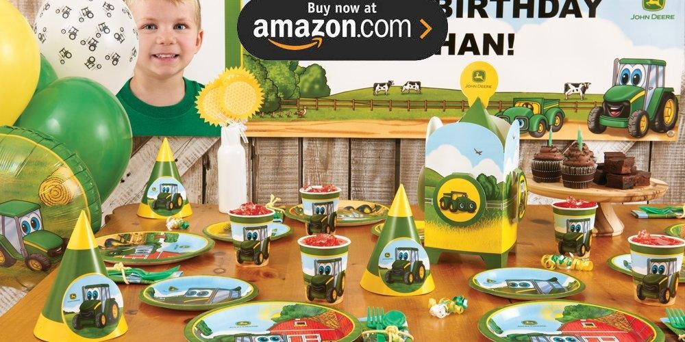 Johnny Tractor Party Supplies - Kids Party Supplies