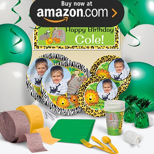Jungle Buddies Party Supplies