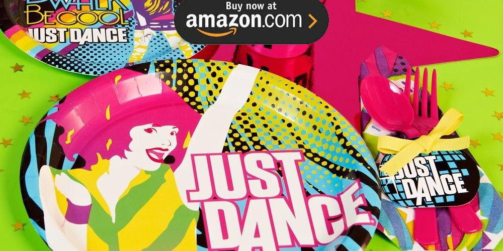 Just Dance Party Supplies