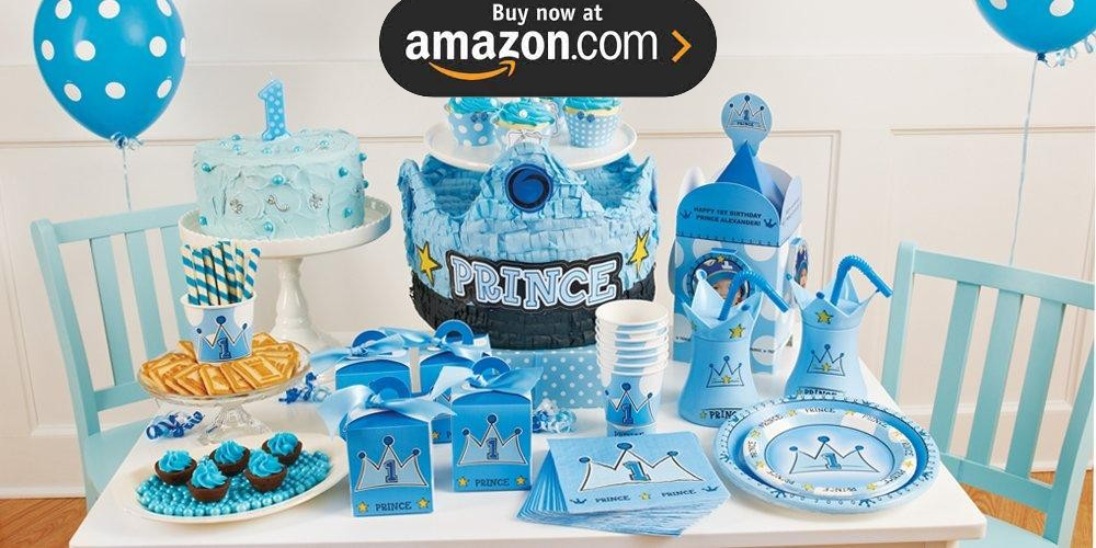 Lil Prince 1st Party Supplies