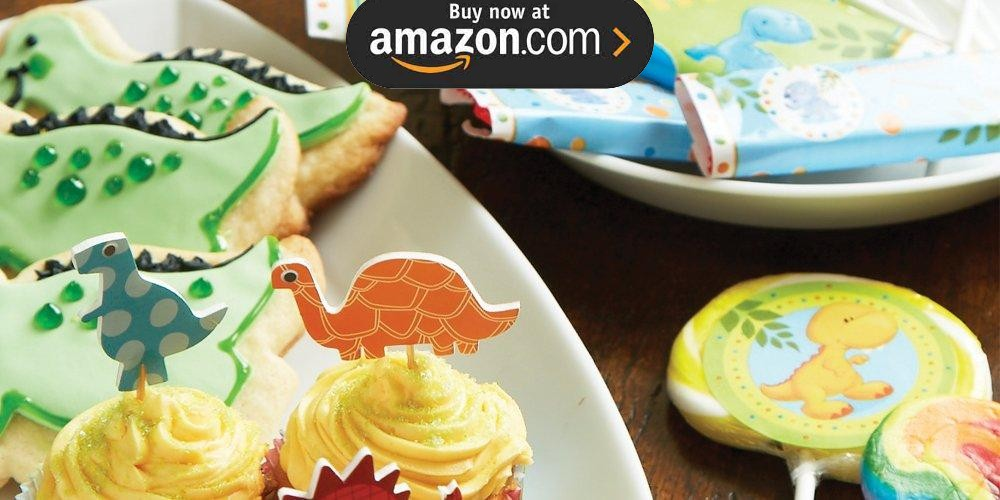 Little Dino 1st Birthday Party Supplies