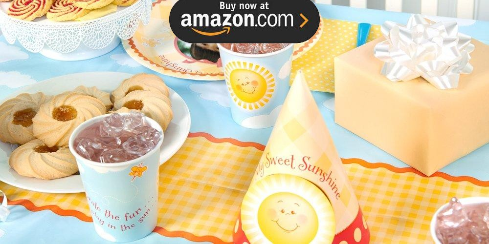 Little Sunshine Personalized Party Supplies