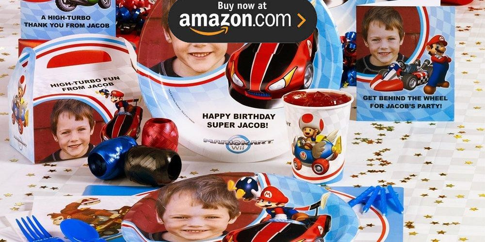 Mario Kart Wii Personalized Party Supplies