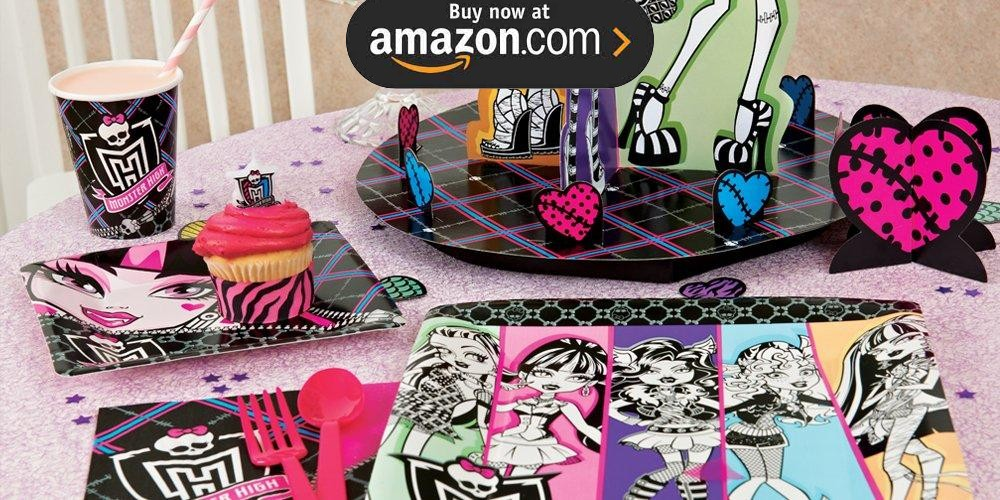 Monster High Party Supplies