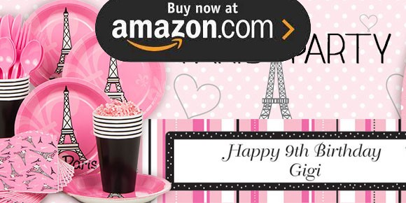 Paris Party Supplies