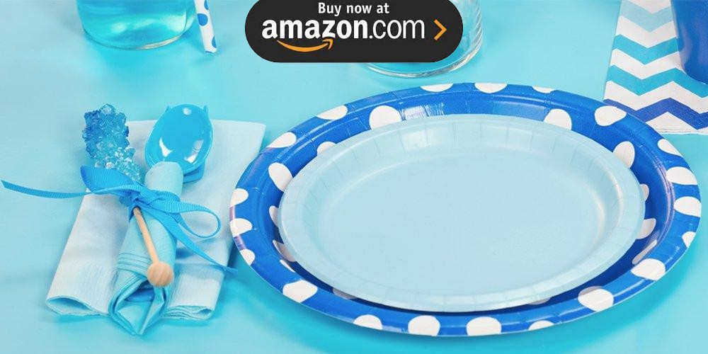 Pastel Blue Party Supplies