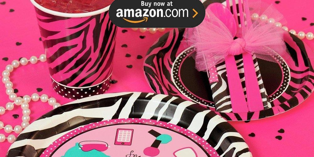 Pink Personalized Party Supplies