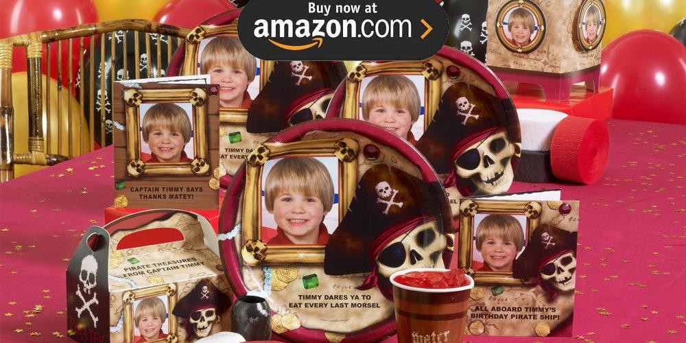 Pirate Personalized Party Supplies