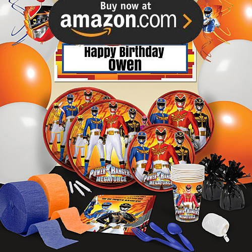 Power Rangers Megaforce Party Supplies