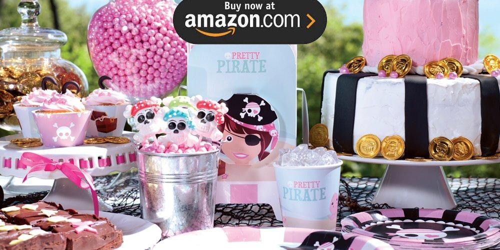 Pretty Pirates Party Supplies