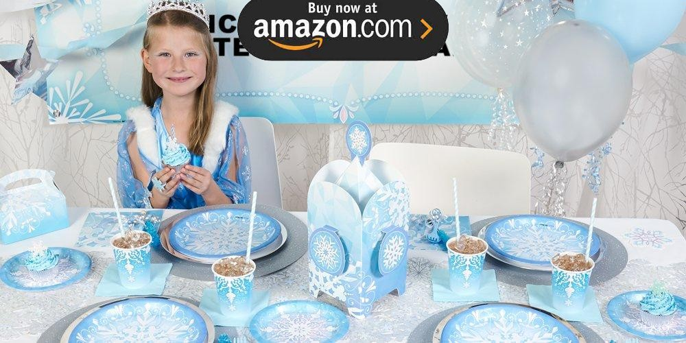 Snowflake Winter Wonderland Party Supplies