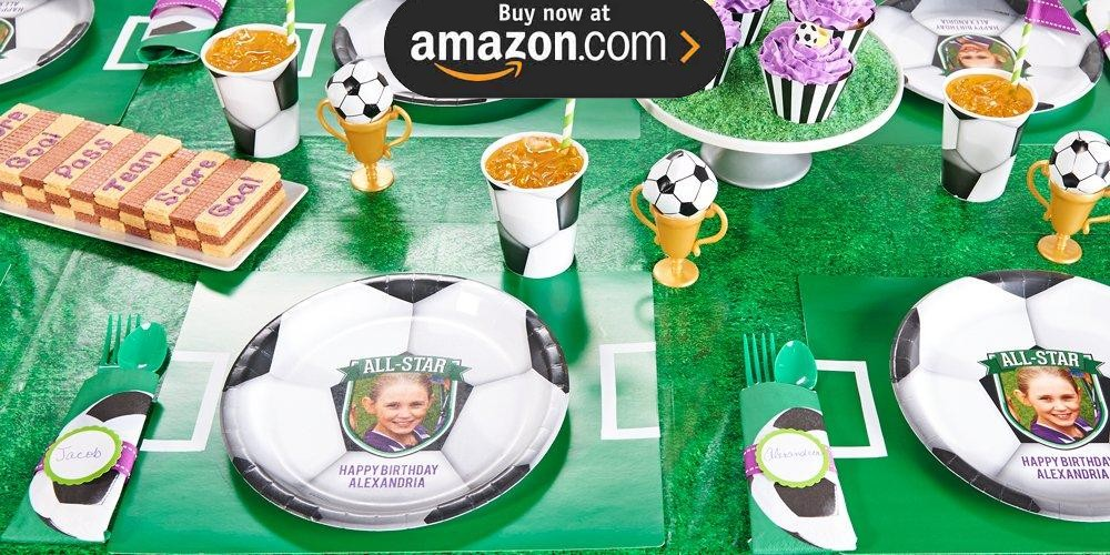 Soccer Personalized Party Supplies