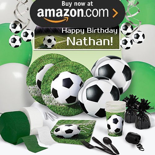 Soccer Ball Party Supplies