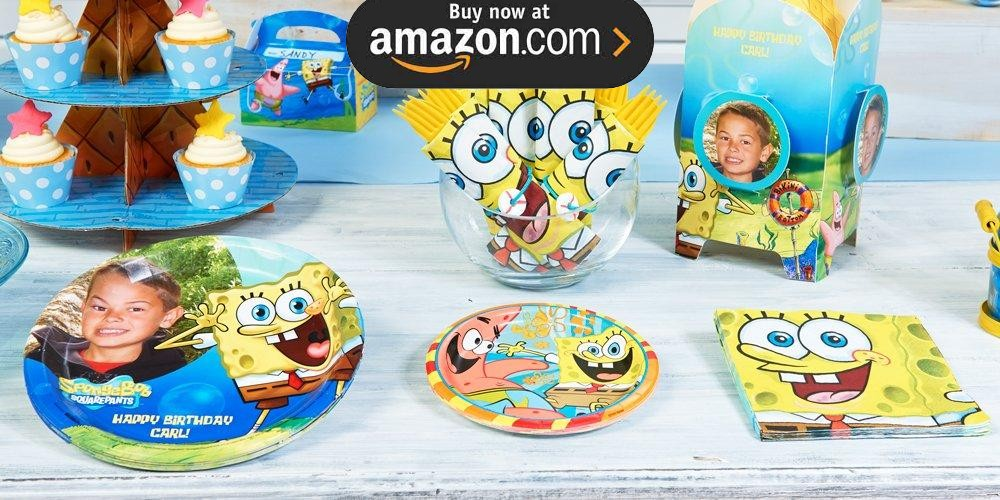 SpongeBob Personalized Party Supplies