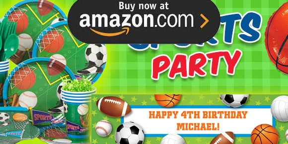 Sports Party Supplies