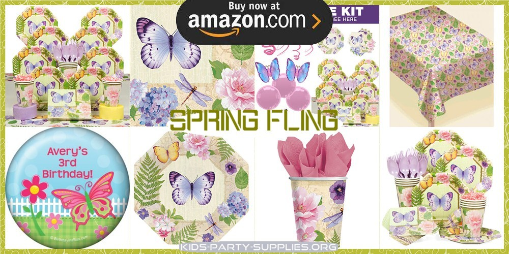 Spring Fling Party Supplies