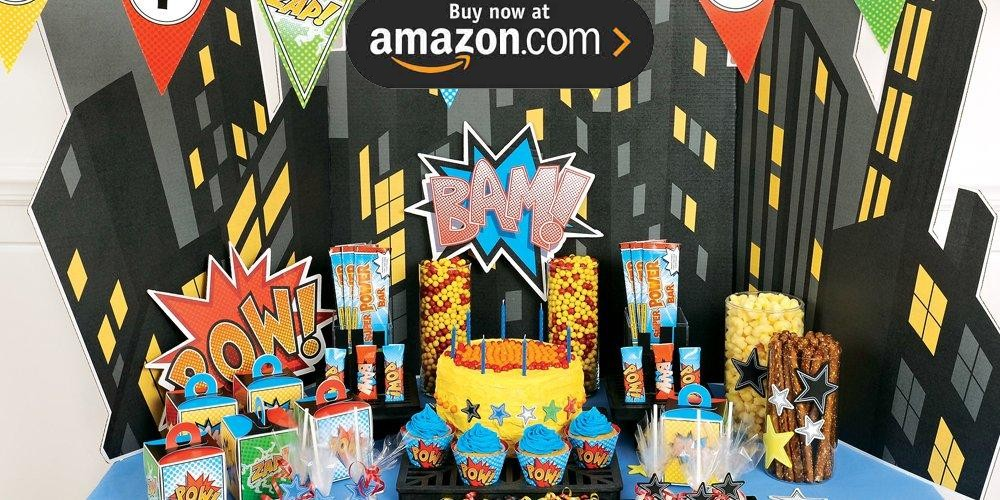 Superhero Comics Party Supplies